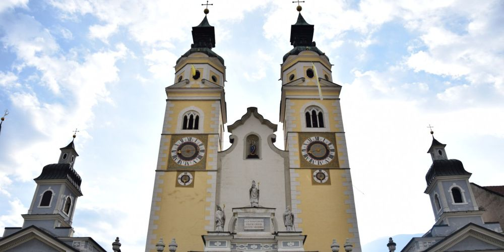 One of the many churches in Brixen.